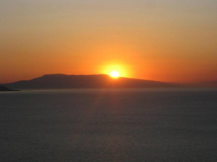 Sunset at Paradise Hotel