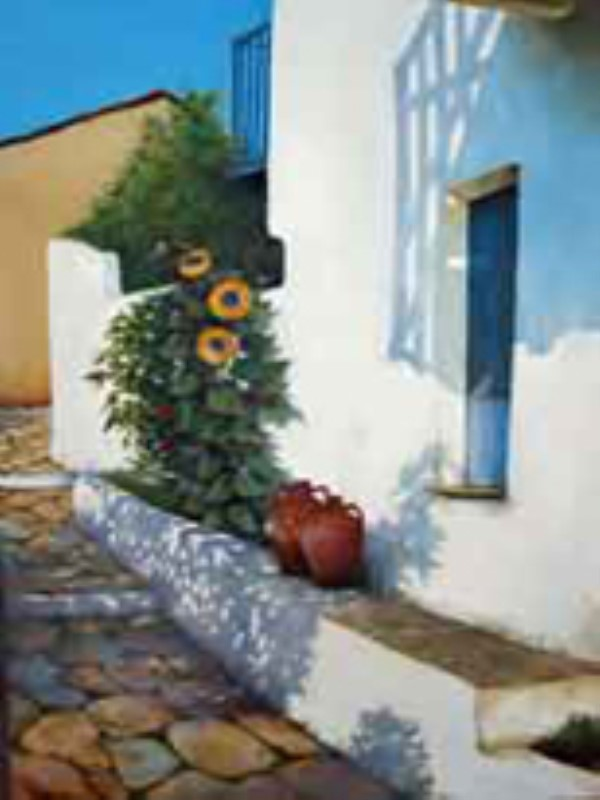 Painting, Alonissos, Alonnisos, Paradise, Hotel